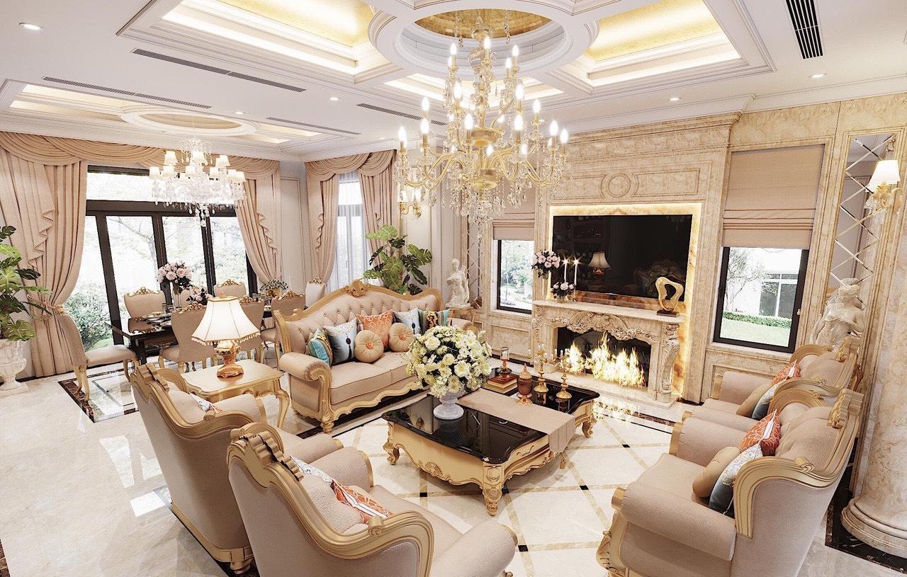 Thiết kế – Thi công biệt thự gần 1000m2 tại Sơn Tây Hà Nội