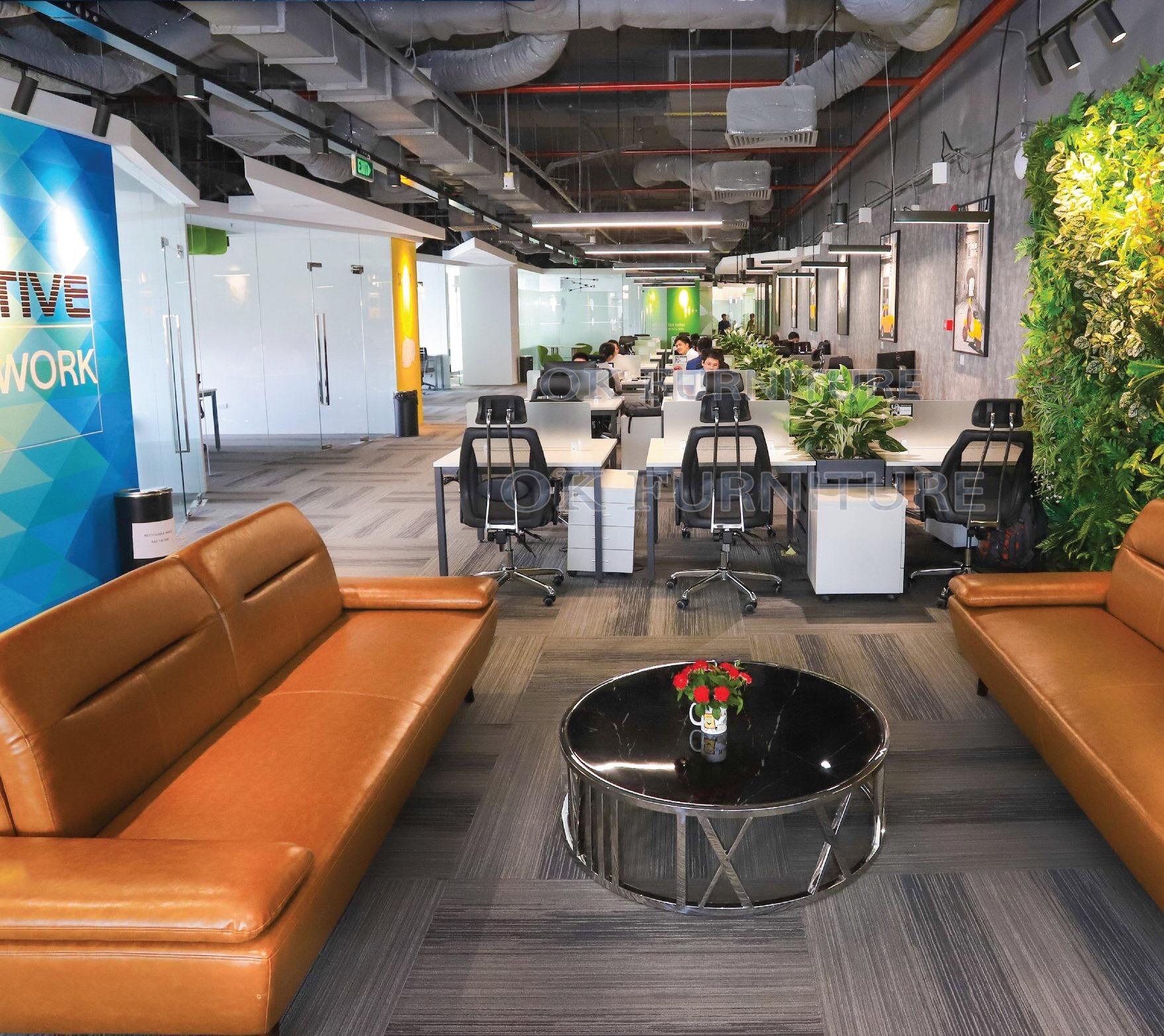Thi công – cung cấp nội thất văn phòng sàn Coworking CEN X SPACE